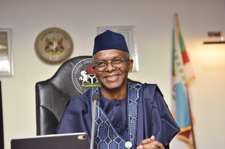 Governor Nasir El-Rufai of Kaduna State was in South Africa for something different, not WEF [Twitter/@GovKaduna]