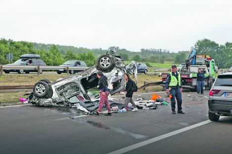 Saobraćajna nesreća kod Bubanj potoka