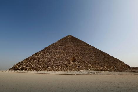 Severna strana Kufove odnosno Keopsove piramide