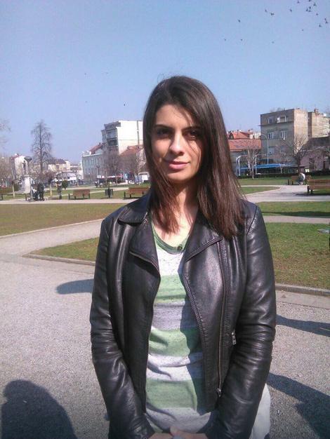 Katarina Cvejić (21), studentkinja FPN