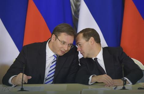 Medvedev uskoro u Srbiji
