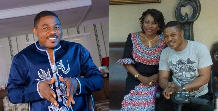 Yinka Ayefele has debunked the news going around that he has welcomed a set of triplets with wife, Temitope [Lailas]