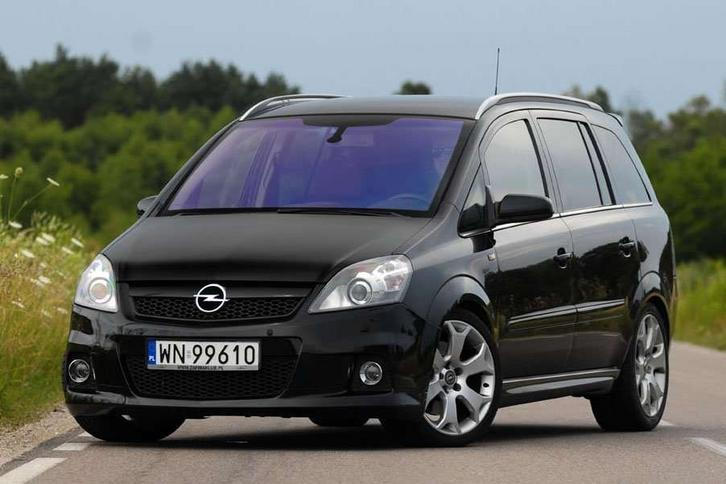 opel zafira opc rakieta czy autobusik. Black Bedroom Furniture Sets. Home Design Ideas