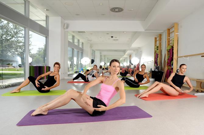Katarina Gromilić treninge kardio-baleta drži na nekoliko lokacija u Beogradu