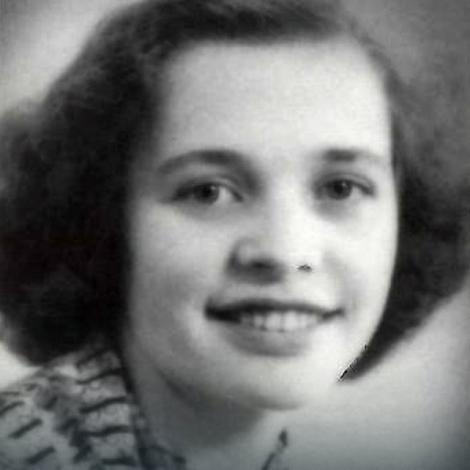 Johana van Harlem kao devojka