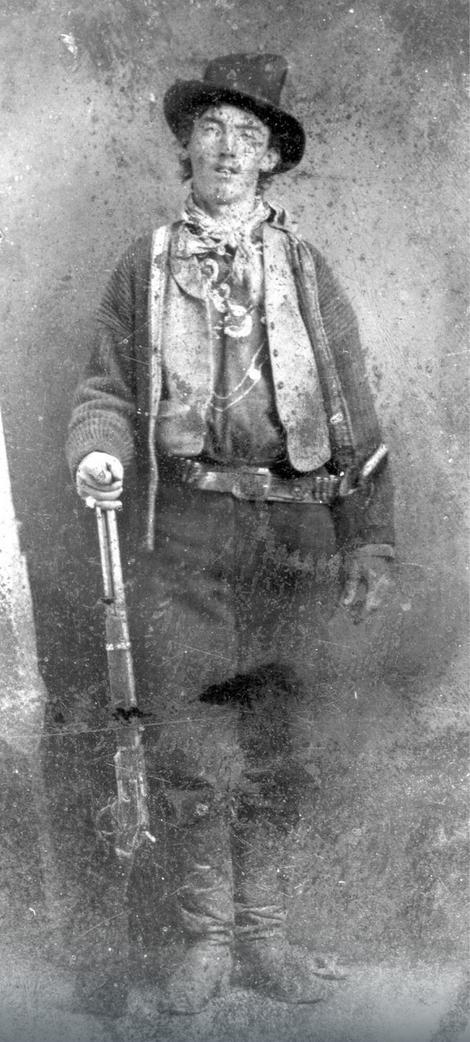 Bili Kid je rođen 1859. godine, a legenda o njemu kaže da je ubio više od 20 ljudi