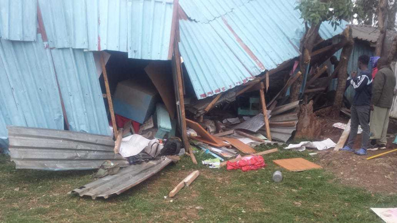Pupils feared dead as classroom wall collapses at Precious Talent School along Ngong Road