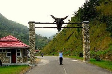 The entrance to the Obudu Cattle Ranch (Cross River Tourism)