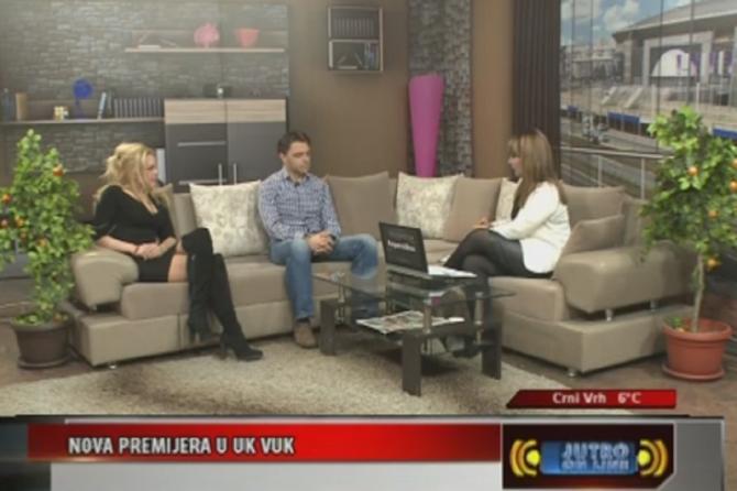 Ivana Panzalović i Stanko Holcer u emisiji na TV Kopernikus prošle godine