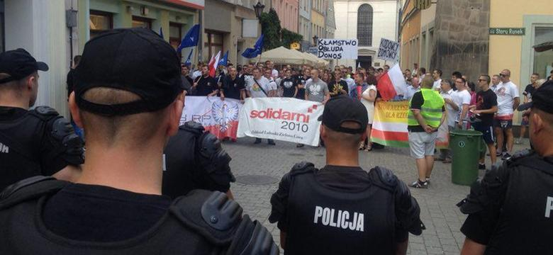 """TVP Gorzów Wlkp. pokazała tylko jedną demonstrację. To popis manipulacji"""""""