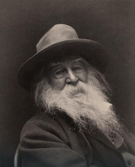 Volt Vitman sa 68 godina (1887)
