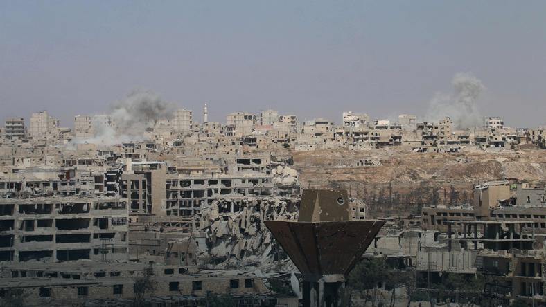 Z miasta Aleppo w Syrii nie zosta�o ju� prawie nic