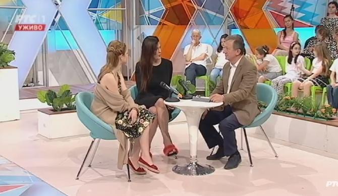 Maja Bjelogrlić gostovala je ovog vikenda u