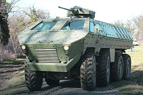 """Srpsko borbeno vozilo """"Lazar"""""""