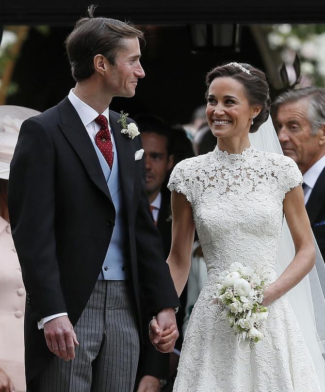 Venčanje Pipe i Džejmsa mediji su nazvali gotovo kraljevskim
