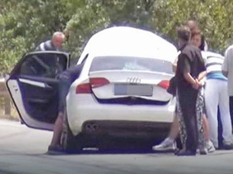 """""""Audi"""" koji je vozio srpski državljanin"""