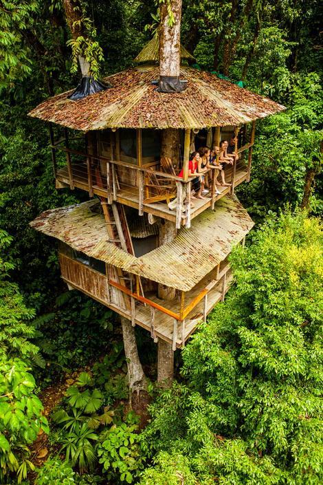 OSTVARENJE DEČIJEG SNA Kućice na drvetu koje bude želju za životom u prirodi