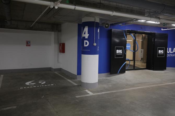 Dobile su prva parking mesta u Beogradu,  u BIG Fashion šoping centru u Višnjičkoj