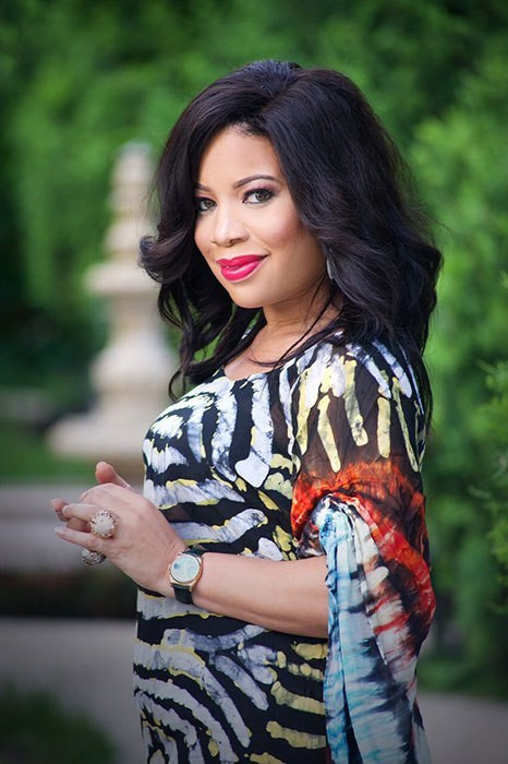 Monalisa Chinda says her first marriage crashed because her ex-husband was a woman beater. [Monalisa Chinda]