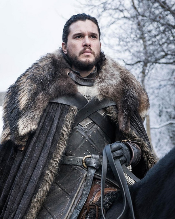 Jon Snow from 'Game of Thrones' season 8 [Complex]