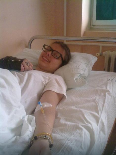Darija u bolničkoj postelji