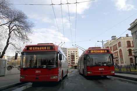 Trolejbusi će voziti samo do Slavije