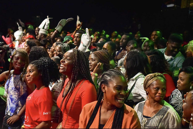 For the very first time since the beginning of the Big Brother Naija live eviction show, it played host to a calmer audience. [BHM]