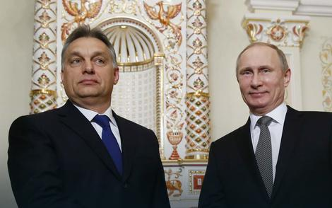 Prijateljski i međusobno isplativ odnos: Viktor Orban i Vladimir Putin