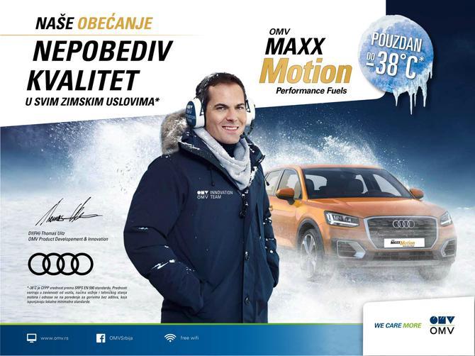 Nepobediv kvalitet uz zimski OMV MaxxMotion Dizel