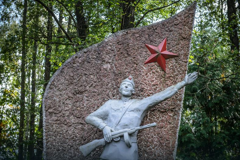 Pomnik Wdzięczności Armii Czerwonej w Dubiczach Cerkiewnych – został postawiony w 1985 r.