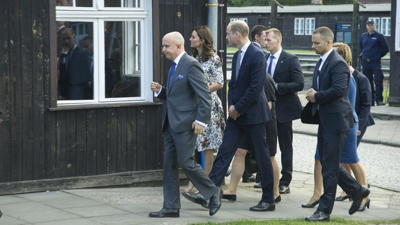 Para książęca Cambridge Kate i William w Stutthof
