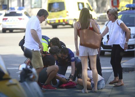 Teroristički napad u glavnoj ulici