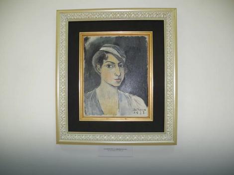 Milena Pavlović Barili, Autoportret
