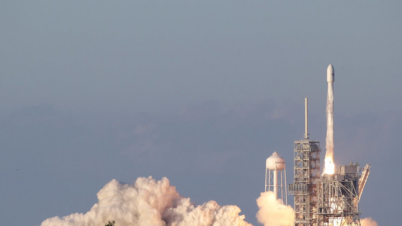 SpaceX Launches Israeli Communications Satellite