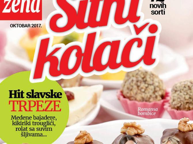 "Nova ""Blic žena"" poklanja: Drugi dodatak recepata za SITNE KOLAČE najboljih domaćica Srbije"