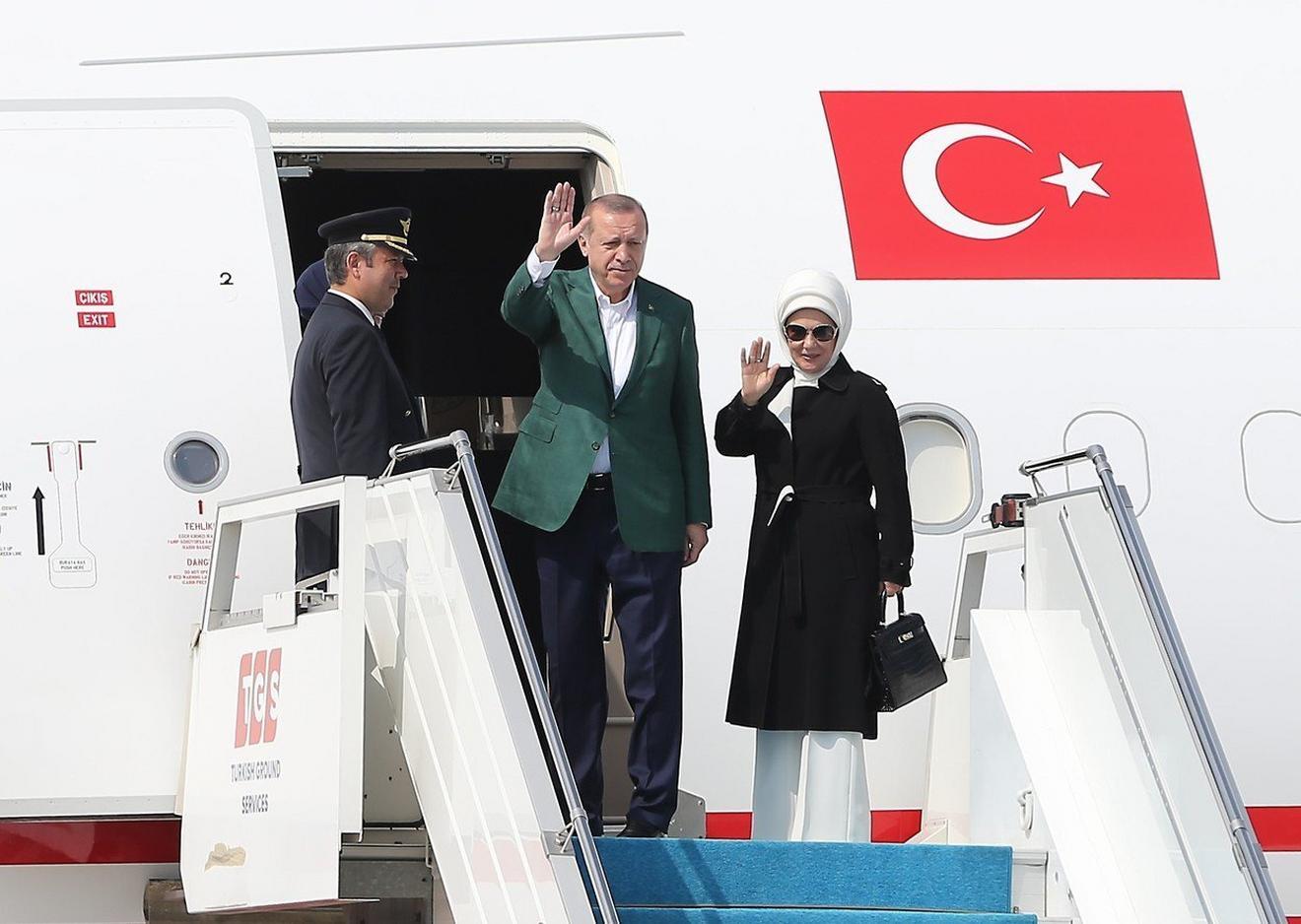 Na putu za Vašington prošlog meseca u Istanbulu