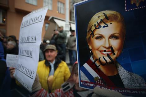 Sa jučerašnjih protesta u Zagrebu