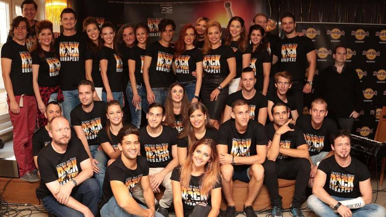 Íme a We Will Rock You musical szereplői