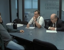 "Kadr z filmu ""Office space"""