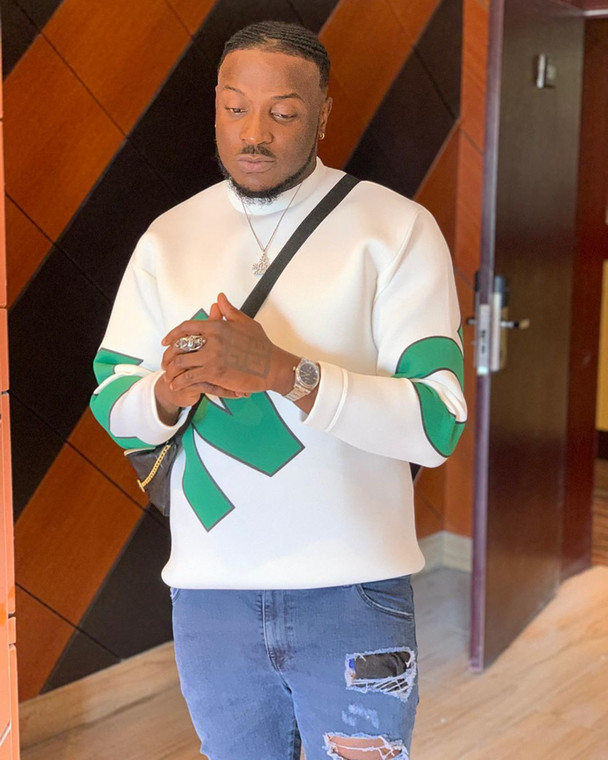 Peruzzi has come out to accept the fact that he actually slapped popular 'social media influencer,' Pamilerin [Instagram/PeruzziVibes]