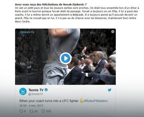"""Deo Popovićevog intervjua za francuski """"WeLoveTennis"""""""