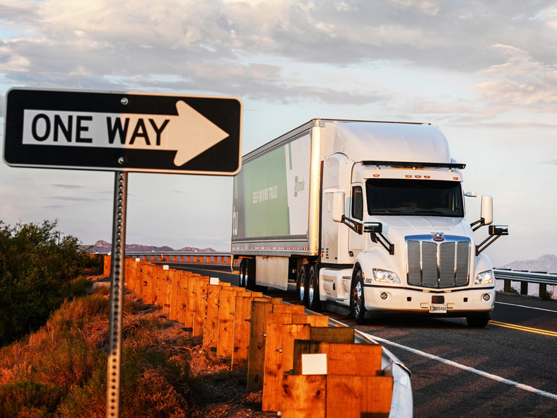 Startup spotlight: autonomous trucking with TuSimple