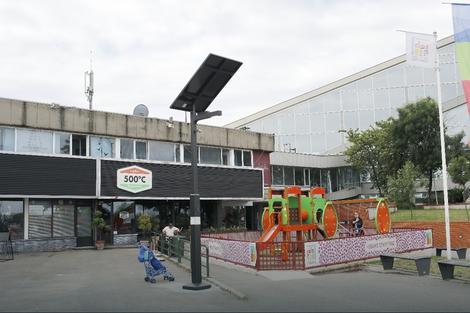 Solarna lampa na Starom gradu