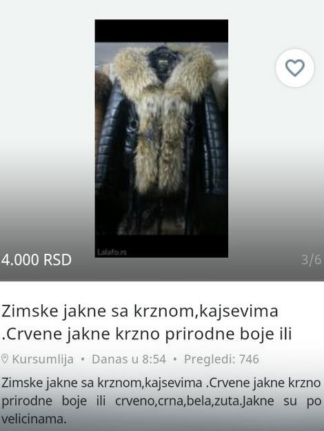 Oglas na internetu na koji je nasela Jelica Mihailović