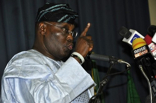 PDP Presidential candidate Alhaji  Atiku Abubakar, says the 2019 election was massively rigged in Buhari's favour (AFP)
