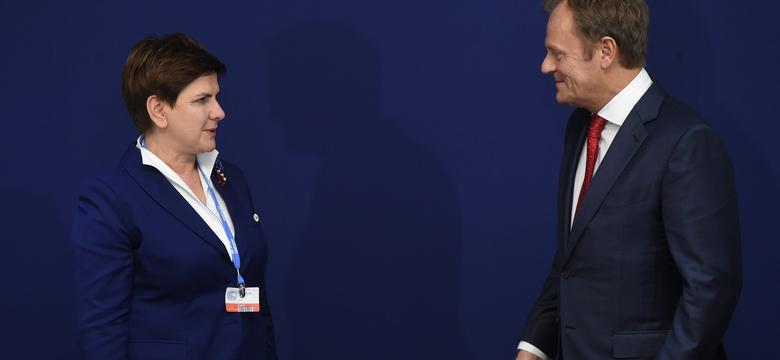 Premier Szydło spotka się 13 września w Warszawie z Tuskiem