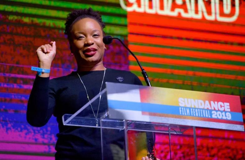 Chinonye Chukwu at the Sundance film festival 2019 [Photo by Matt Winkelmeyer/Getty Images]