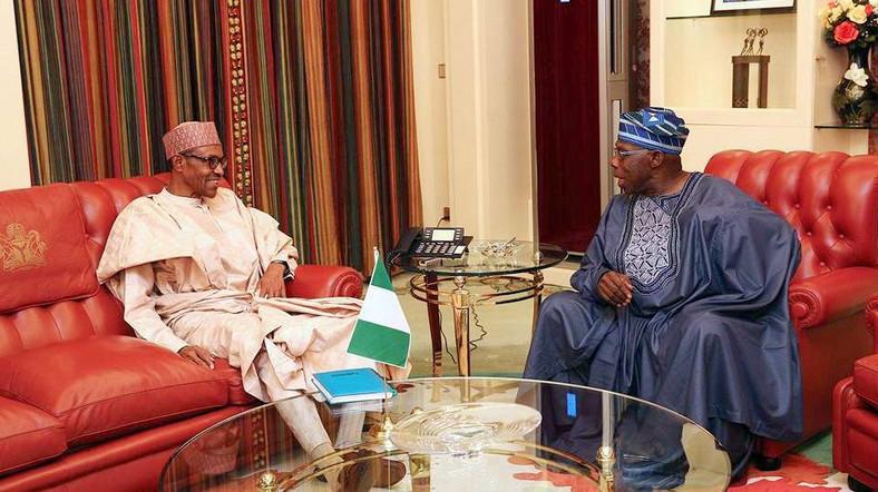 President Muhammadu Buhari and former President, Olusegun Obasanjo were buddies when Buhari got a first term in office (Punch)