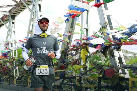 Jovica Spajić postavio nov rekord na Ultra trci na Himalajima