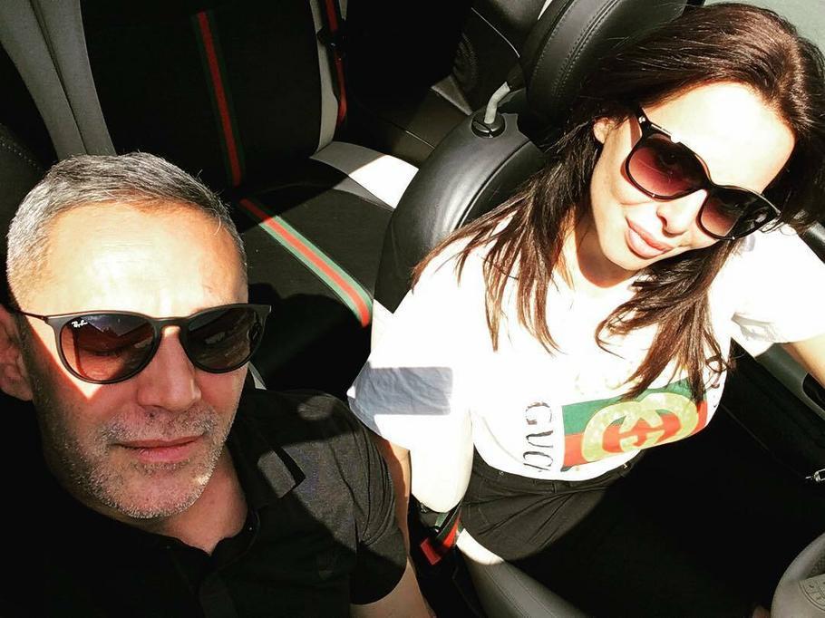 Saša Vidić i Sonja Vuksanović u maju ove godine